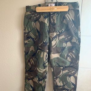 Wallace & Barnes Camo Military Pants